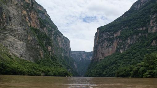 Cañón del Sumidero, Chiapas.