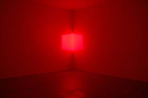 James Turrell. Afrum red, 1967.